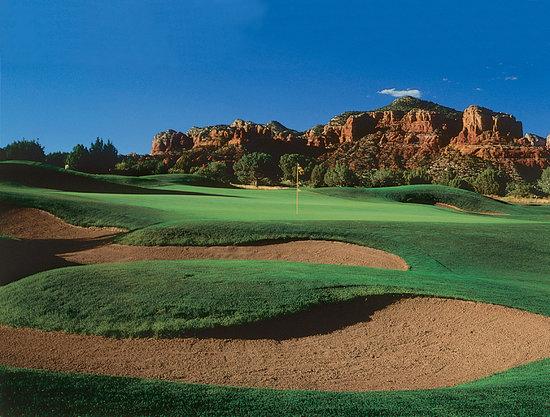 Sedona Golf Resort: Hole #8