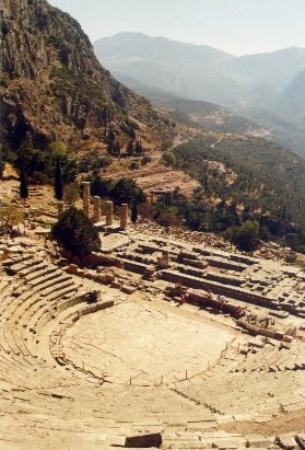 Delfos, Grecia: Delphi