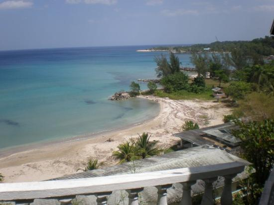 Jamaica Grande Beach: Our private beach getaway view Oracabessa Beach