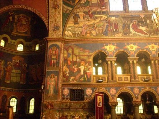 Orthodox Cathedral: Y no decepcionó, no lo hizo. La pintura igual de bonita