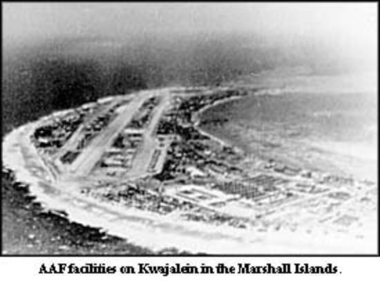 kwajalein atoll 1950 s マーシャル諸島 クェゼリン島の写真