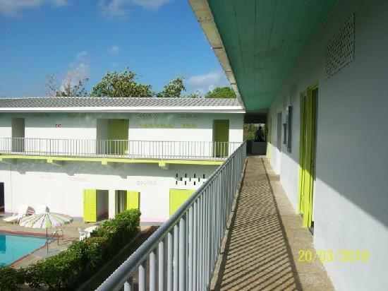 Changrela Cocrico Inn : cocrico corridor