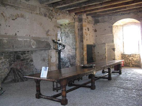 Elcho Castle: interior