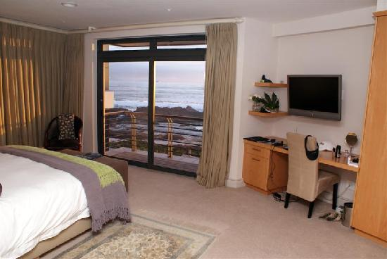 Bloubergstrand, Sydafrika: Robben Island Suite with view