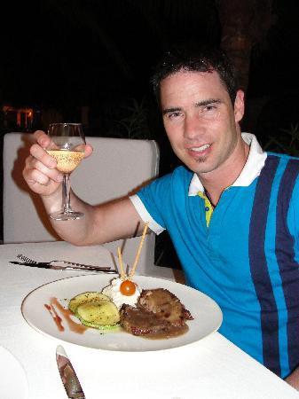 El Dorado Sensimar Riviera Maya: belle présentation des assiettes
