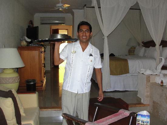 El Dorado Sensimar Riviera Maya: service aux chambres