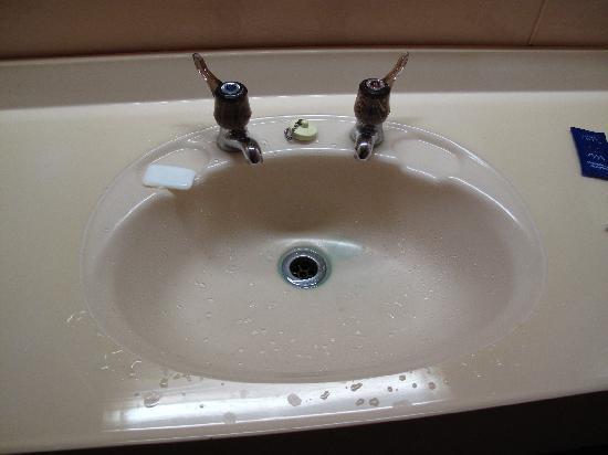 Mackenzie Country Inn: Washbasin
