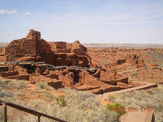 Sunset Crater Volcano National Monument: Wupatki Ruins