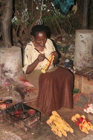 Watamu, Kenia: Fabbrica del legno di Malindi