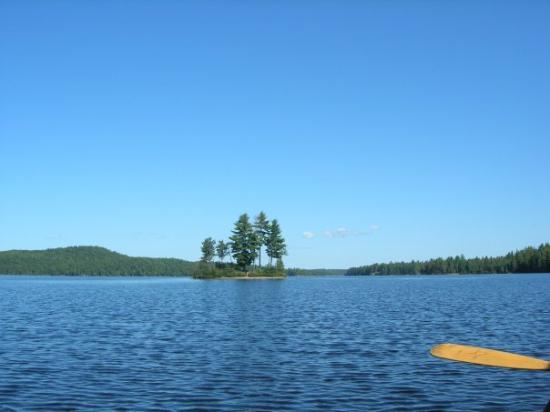 Algonquin Provincial Park, Canada: On the canoe