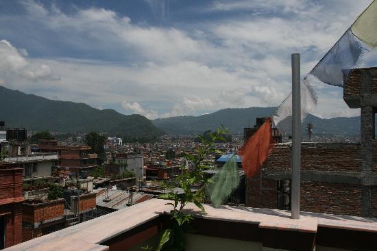 Asmita Bed & Breakfast: Vistas desde la terraza del Asmita B&B