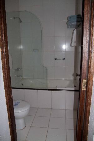 Parador Santa Maria la Real: Salle de bain