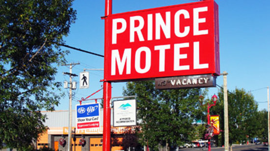 Prince Motel: Sign