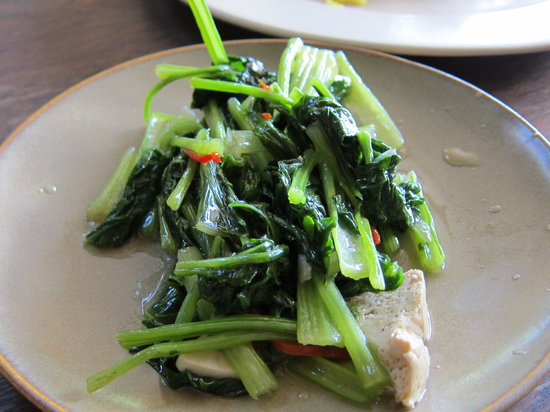 Warung Batavia: Fried local vegetables