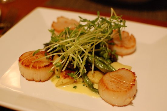 Brewster Fish House: perfectly cooked scallops