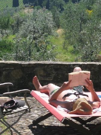 GRANDETERRA: Sunbathing facilities!