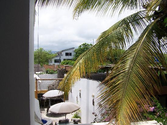 Galapagos Islands Hotel: View from the balcony