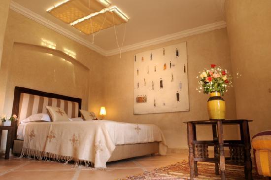 Riad les Hibiscus: Suite 'Rose du Désert'