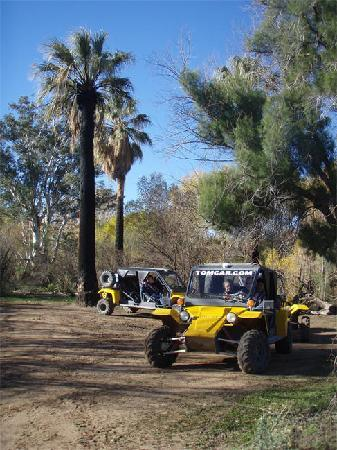 Desert Wolf Tours: Visit old stagecoach stops