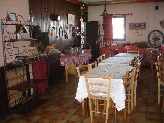 Hotel Les Carrettes: Restaurant