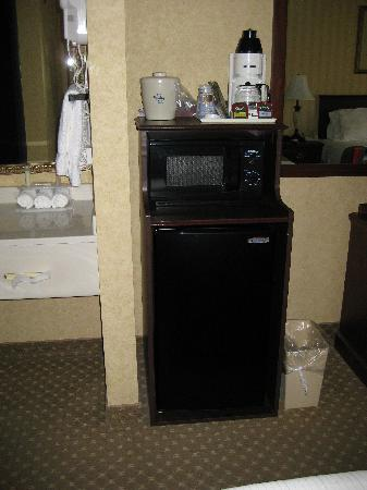 Holiday Inn Express Spokane Valley: There was a microwave and mini-fridge in our room