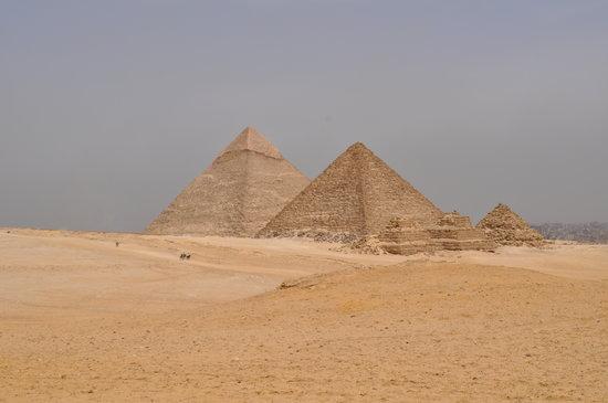 Kairo, Egypten: Giza Pyramids