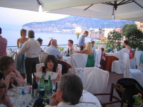 View of Bay of Naples - Picture of Terrazza delle Sirene, Sorrento ...
