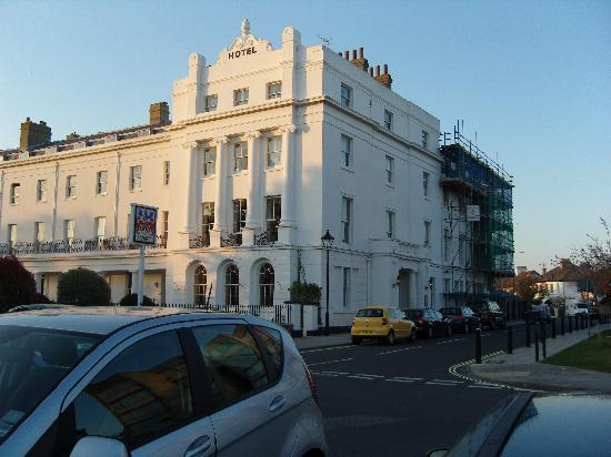 The Anglesey Hotel: Hotel (note the scaffolding)