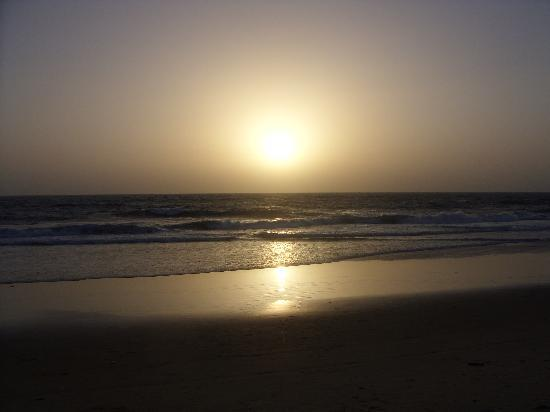 Sunset on Calangute beach