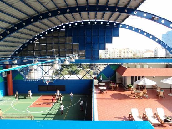 Radisson Hotel Santo Domingo: Solo parte de uno de los pisos del Gimnasio