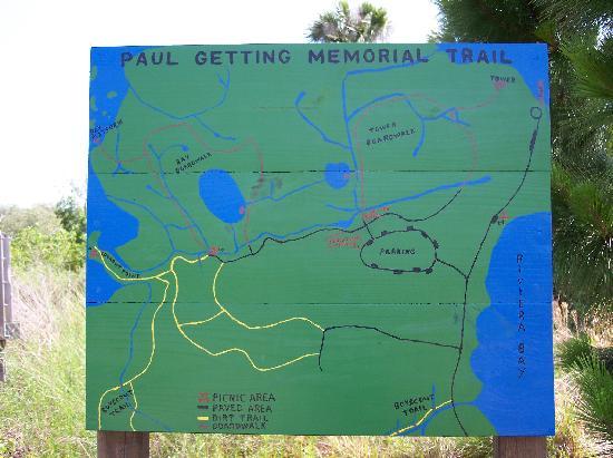 Weedon Island Fishing Map