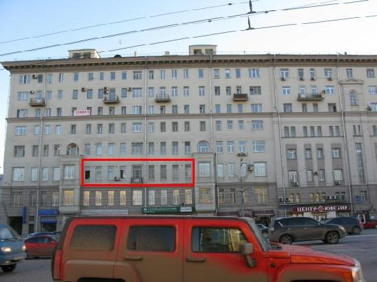 Suharevka B&B and Hostel : The building of the hotel