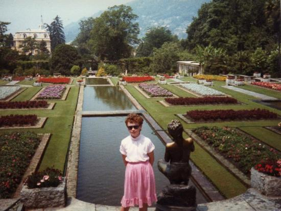 Baveno, Włochy: Villa Taranto (July 1984)