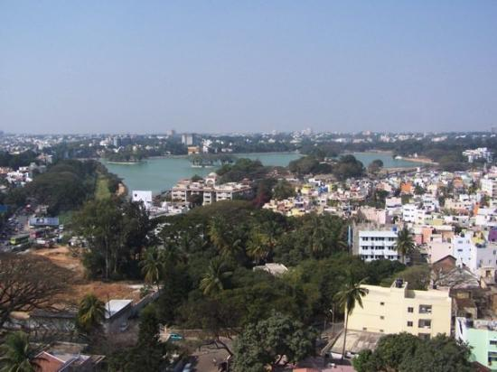 Bengaluru, India: The view of Bangalore from my hotel room