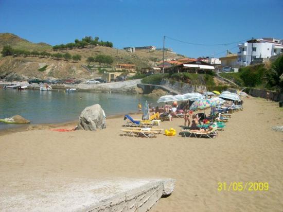 Panormos, Grecia: Bystranda i Panormo