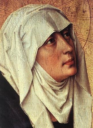 Beaune, Fransa: Rogier van der Weyden, polyptyque ouvert, dernier jugement