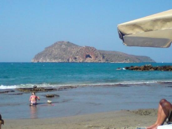 La Canée, Grèce : Stranden