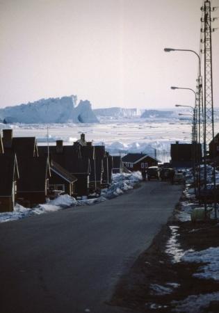 Ilulissat, Groenlândia: Iglumiutvej og isfjordsbanken