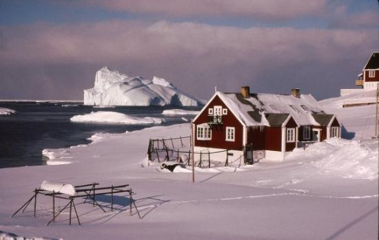 Lægeboligen ved Ilulissat sygehus.