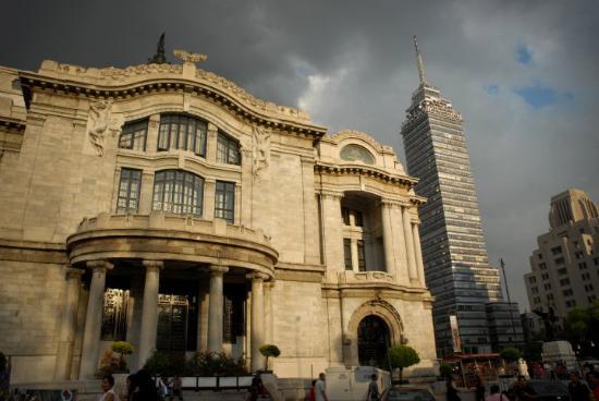 Bellas Artes y Torre Latinoamericana