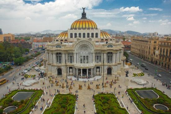 Mexico City, Meksiko: Palacio de Bellas Artes