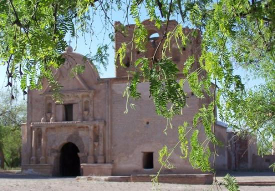 Tumacacori National Historical Park: Tumacacori Mission near Tubac, AZ.  Nearby is Wisdom's, the best Mexican restaurant in so. AZ.