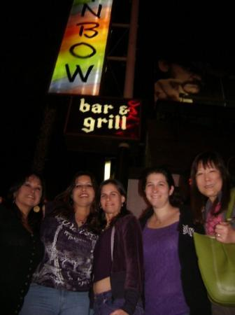 West Hollywood, Californië: Ninfa, me, Christina, Anita and Crickette. May 2009