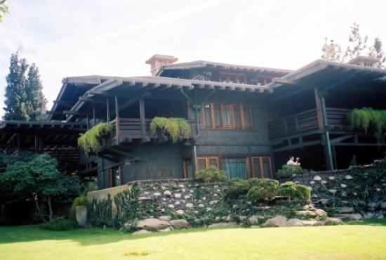 Back to the Future! Doc Brown's house. AKA: The Gamble House in Pasadena