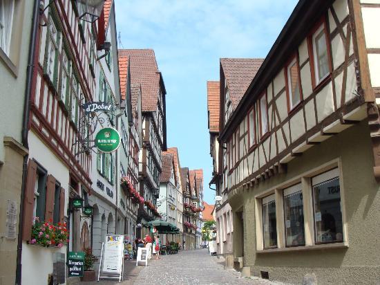 Hotel Sonne Und Weinstube Feyerabend: street view in Bad Wimpfen