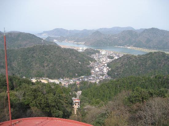 Kinosaki Onsen Kojinmari: view from hillside