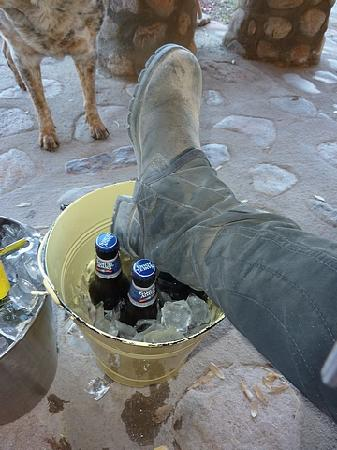 Price Canyon Ranch: dirty boots and cold beer not much better than that