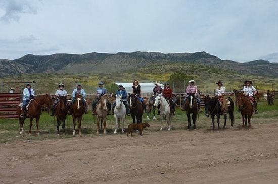 Price Canyon Ranch: the crew!!!!! we loved it