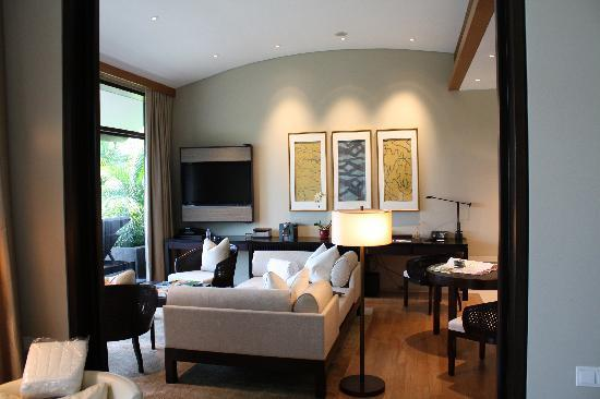 Capella Singapore: our villa