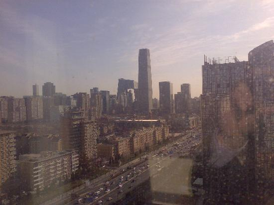 BeiJing Broadcasting Tower Hotel: City view from window